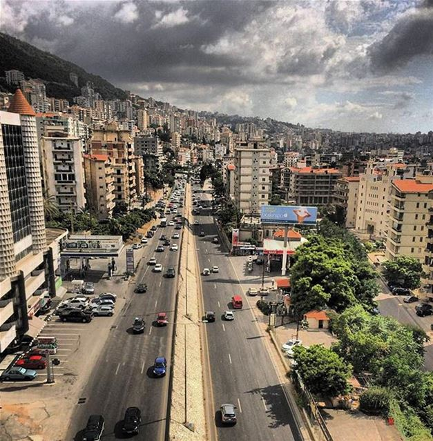 An amazing view from Jounieh منظر مدهش من جونية - كسروانPhoto taken by @l (Jounieh)