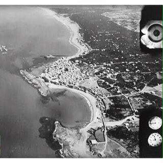 Saida Aerial View In 1936 .