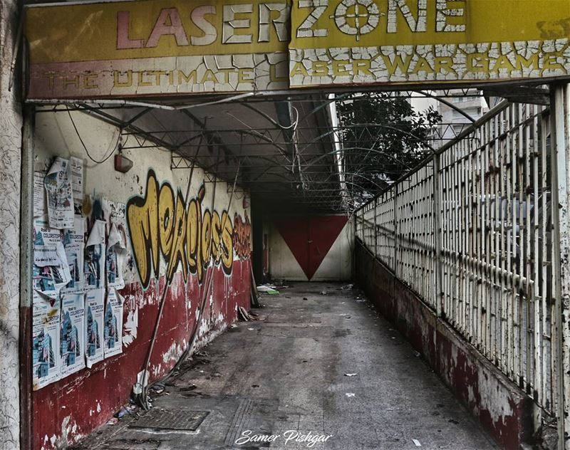 "It was once, ""The Ultimate Laser War Game""...Now, it is 💀@abandonedafterd"