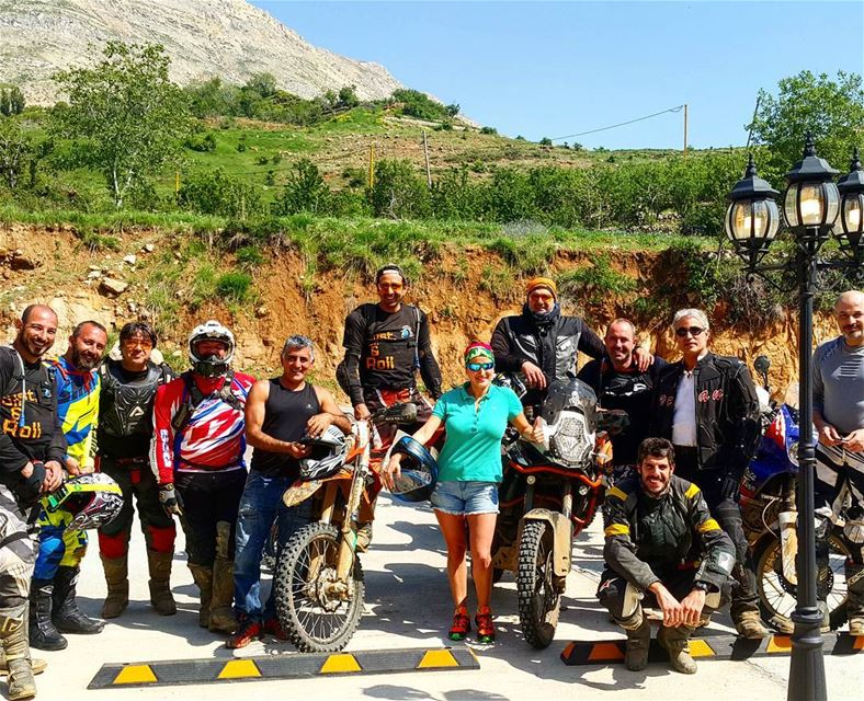 Why not ?😁 lebanon  riding  biking ... (Baskinta, Lebanon)