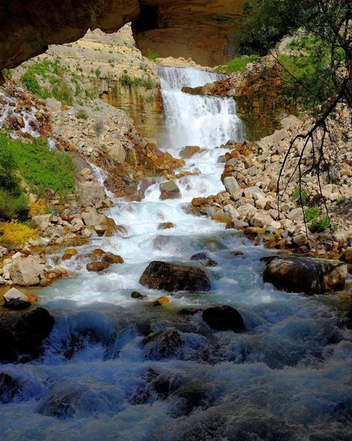 Aphrodite's Flow. The Ibrahim River, known in antiquity as the Adonis, was... (Afka, Mont-Liban, Lebanon)