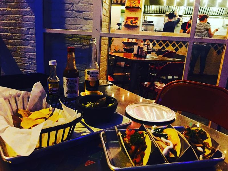 night out dinner withhusband foodie foodstagram foodnetwork foodstyling... (Taqueria Del Jefe)
