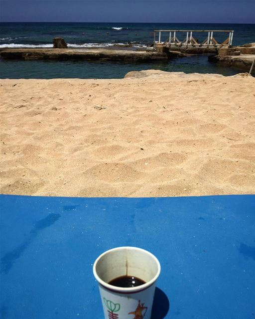 All what I'm looking for is a cup of coffee and peace of mind 👏💚 ... (Jiyeh الجية)