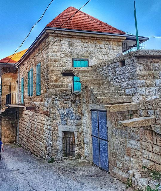 Beautiful old houses of Douma  lebanonhouses  oldhouse  douma ... (Douma, Liban-Nord, Lebanon)
