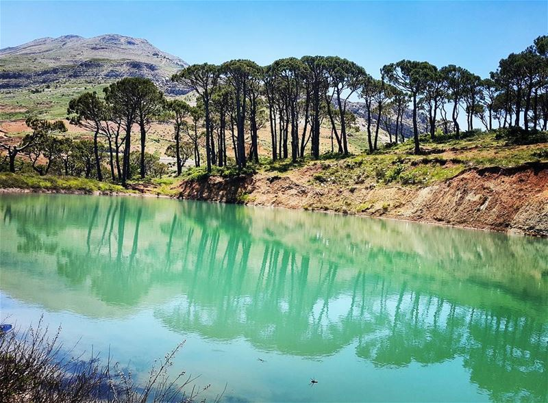 """Life is only a reflection of what we allow ourselves to see""... (Falougha, Mont-Liban, Lebanon)"