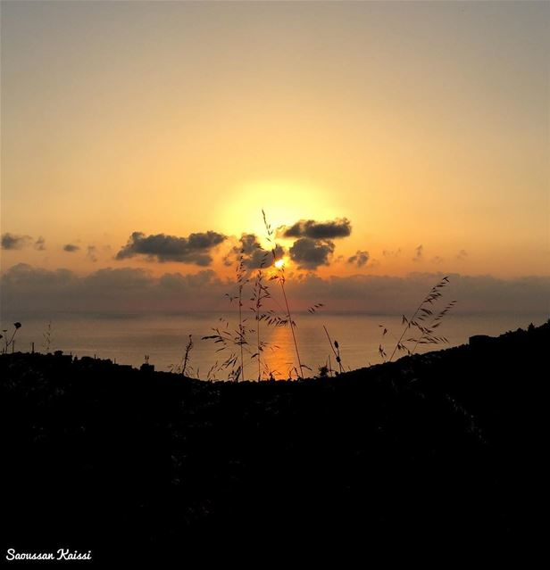 today  sunset  sea  colors  lebanon ...