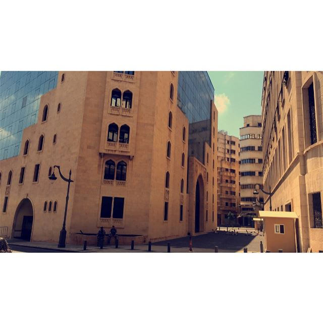 From the bottom of my heart ,it's still a magical place even if you know... (Downtown Beirut)
