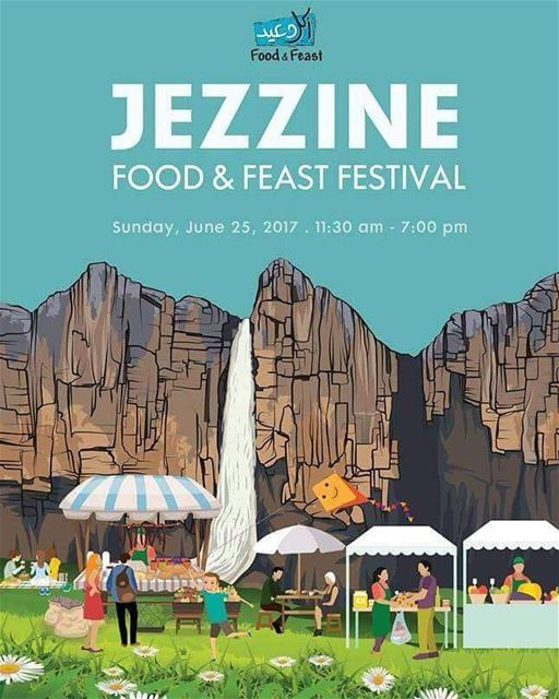 Join the fun celebrations at the Jezzine Food & Feast Festival this Sunday,