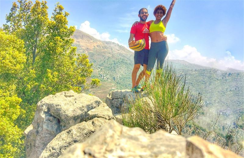 Always reaching higher ! ⛰🏕 saytrees  nature  hike  lebanon ... (Mount Lebanon Governorate)