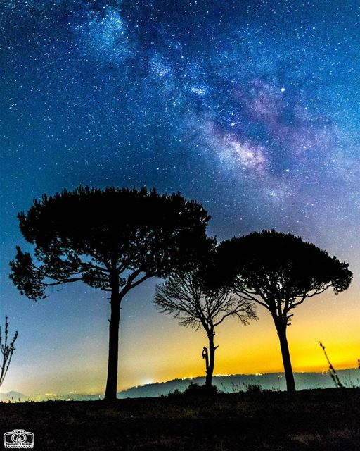 Milkyway From south lebanon night  nightsky  nightphotography  astronomy ...