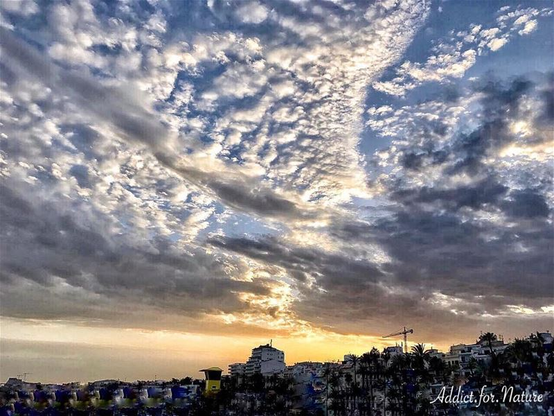 Glory is but grace perfected!.... paintedsky  skyline  cityscape ... (Sitges, Catalunya, Espanya)