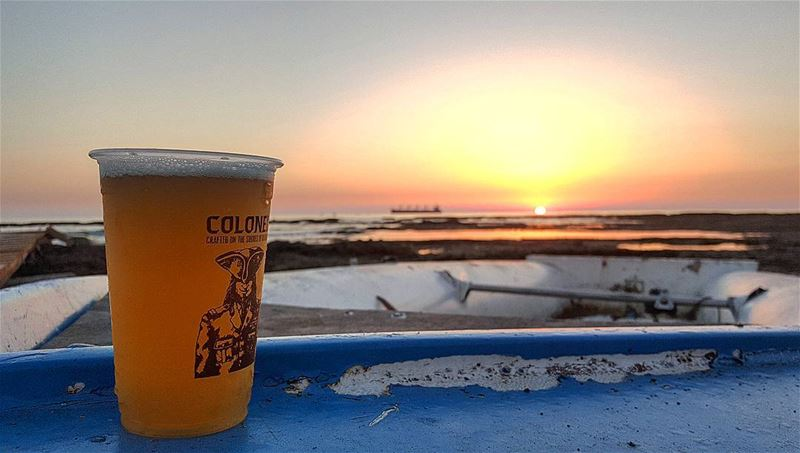 """The summer night is like a perfection of thought..."" summer  sunset ... (Colonel Beer Brewery)"