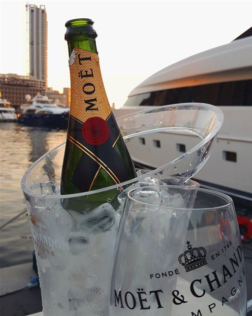 In victory you deserve Champagne; In defeat you need it !Cheers 🥂...... (Zaitunay Bay)
