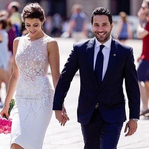 Congratulations @wissambreidy @rymsaidi 💍❤️  love  wedding  couple ...
