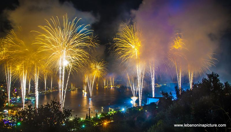 The Jounieh International Festival Fireworks (The second one)
