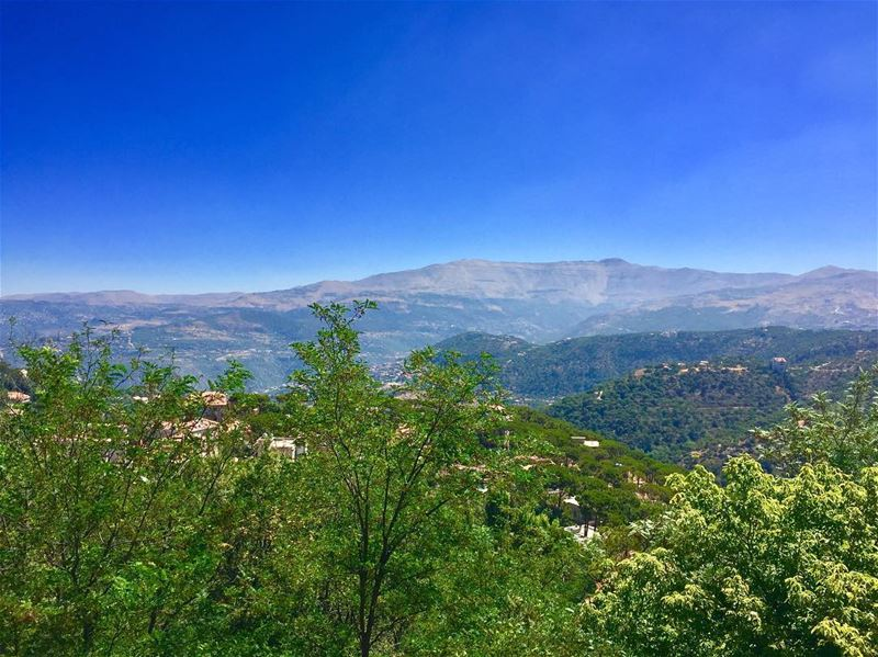 Morning from the balcony ☕️  lebanon  picoftheday  mountains  photoshoot ... (Dhour choueir)