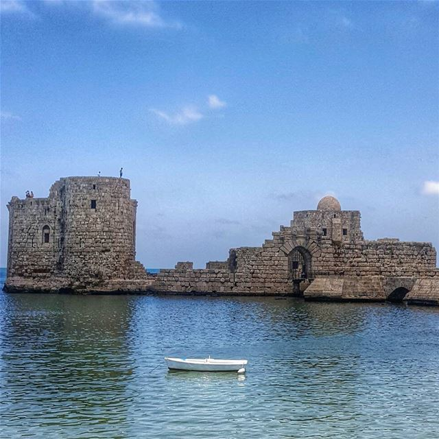 Sidon castle built by the Phoenicians in the 4th century▪▪▪▪▪▪▪▪▪▪▪▪▪▪▪▪▪▪▪ (Sidon Sea Castle)
