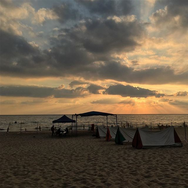 Ramlet al Bayda  iphone6splus  sea  ocean  walk  sports  beirut  cloud ... (Ramlet Al Bayda Public Beach)