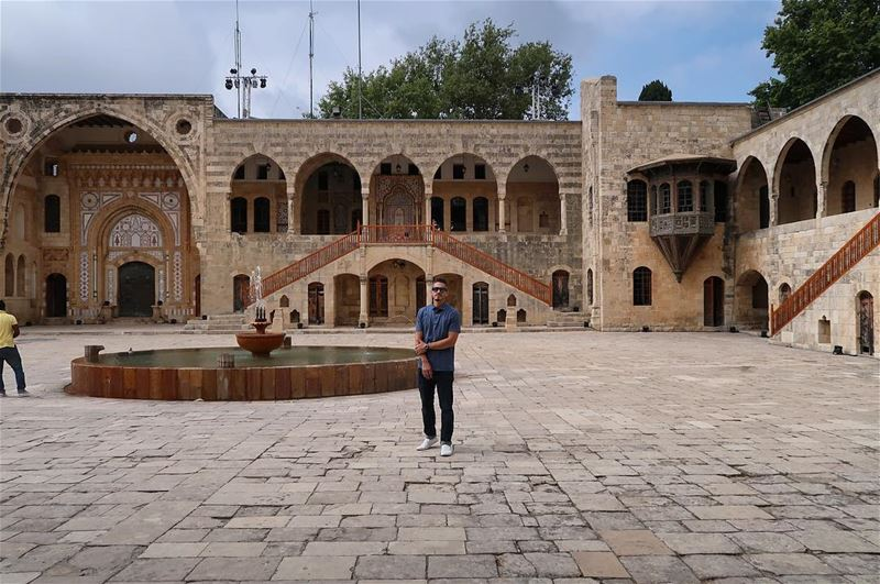 Beit ed-Dine Palace, one of Lebanon's greatest cultural treasures.  ... (Beiteddine Palace)