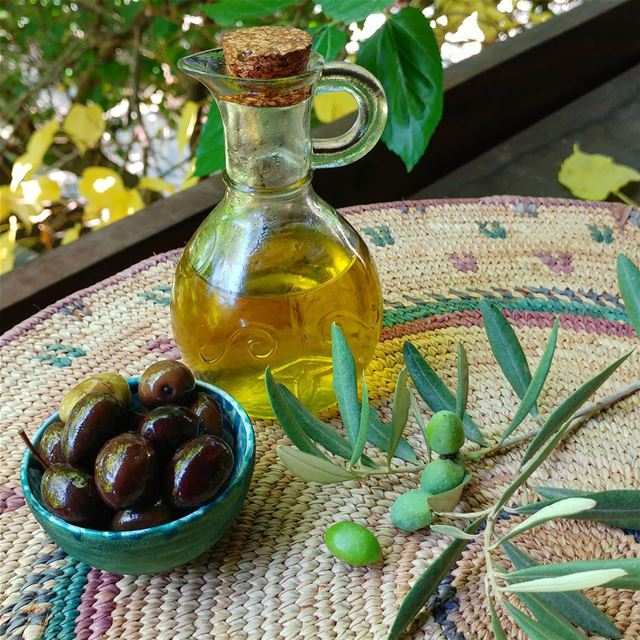 Don't think I'd like a world without olives, or olive oil for that matter!... (Dayr Al Qamar, Mont-Liban, Lebanon)