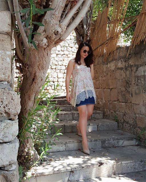 """No matter How u Feel, Get up, Dress up, Show up and Never Give up""🙆‍♀️👗� (Byblos, Lebanon)"