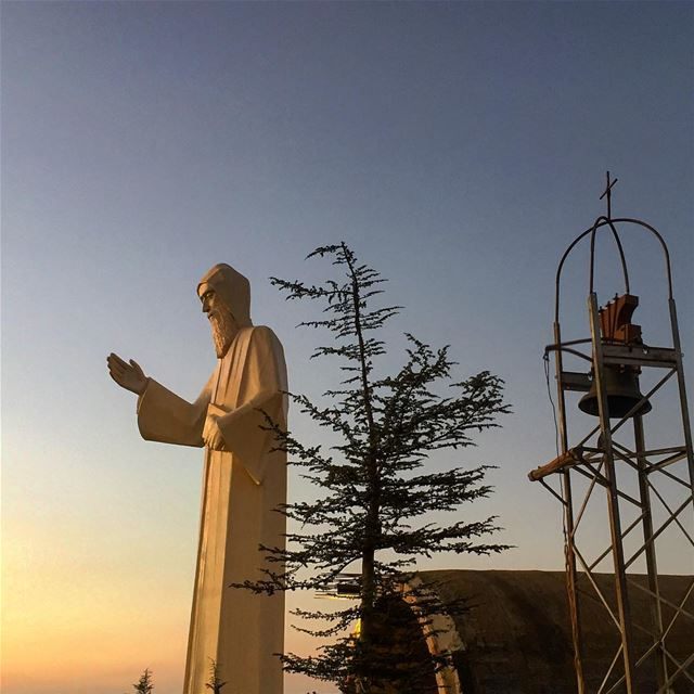 Blessed Sunday 🙏🏻  st_charbel  livelovefaraya  livelovebeirut ... (St Charbel Faraya)