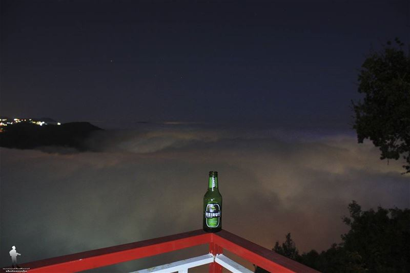 🍺🍺 beirutbeer  beer  veiw  paradise  nightcapture  chouf  livelovechouf...