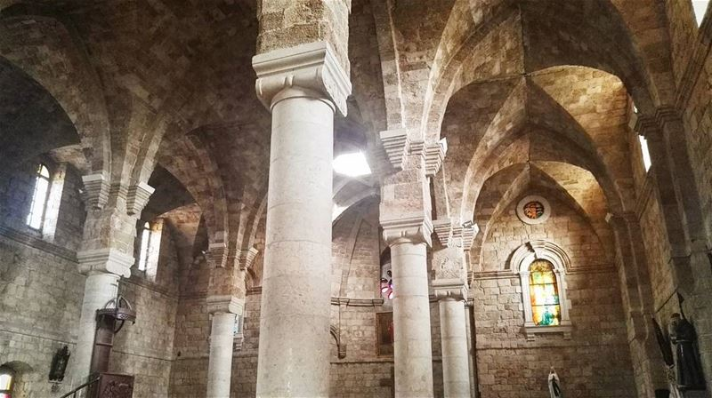 lebanon  architecture  church  batroun  summer  christianity  interior ... (Batroûn)