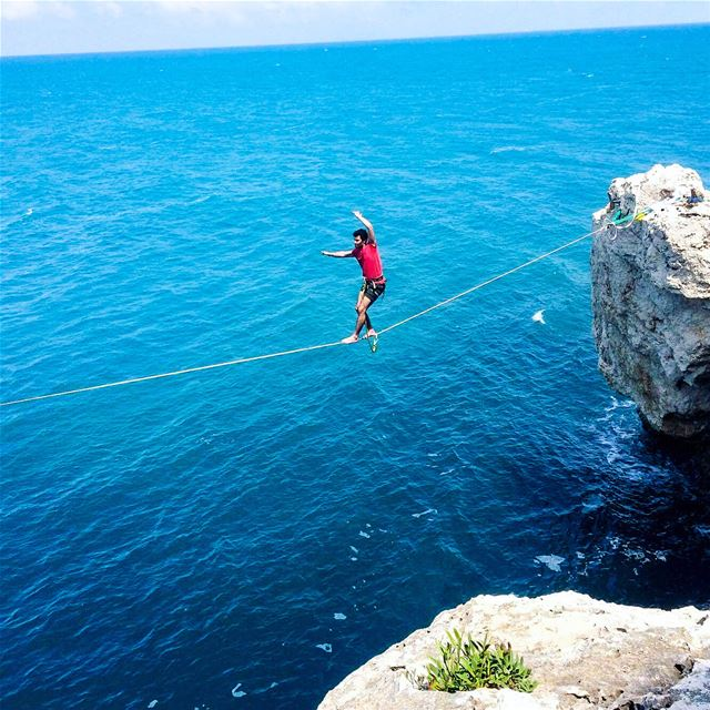 Between the Sky and the Sea halfwaythere  lebanon  highlife  highline ...