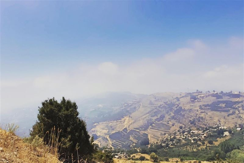That was just a  dream  mountain  view  soft  moody_nature  landscape ... (Lebanon)