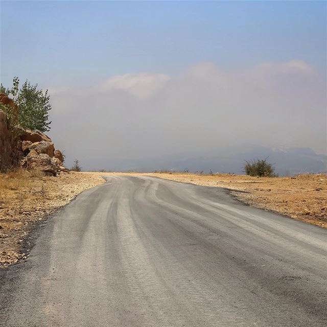 Roads of happiness  road  path  mountain  rural_love  rsa_outdoors ... (Lebanon)