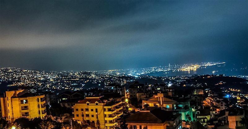 Goodnight lebanon.   lebanon  beirut  goodnight  nightphotography ... (Beirut, Lebanon)