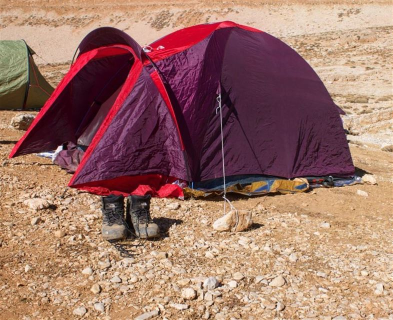 Home is where you pitch your tent. lebanon  lebanese  tent  camping  hike... (Qornet es Saouda)