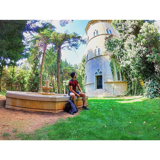 Pathless woods will take you to beautiful places🌳🏰🌳  goprohero6   gopro... (Château Kefraya)
