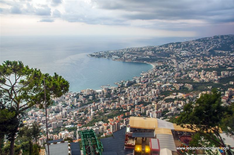 Jounieh Bay Just Before the Sun Went to Sleep