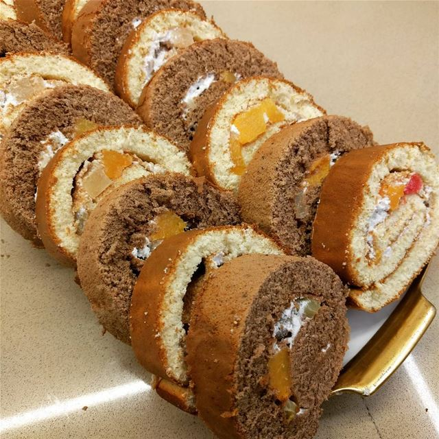 cake   homemadecakes   swissroll   yummy  fresh  sweet   sweety   fresh ...