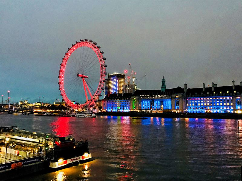 More pictures from the enchanting city. London, we will meet again very... (London, United Kingdom)