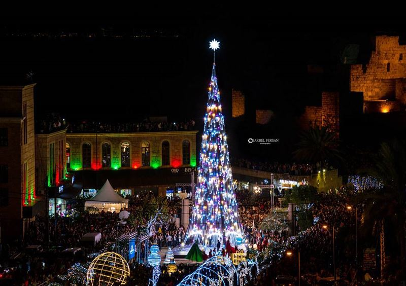 Byblos Christmas Deco. 2017 🎄 Christmas  tree  decoration  lights ...