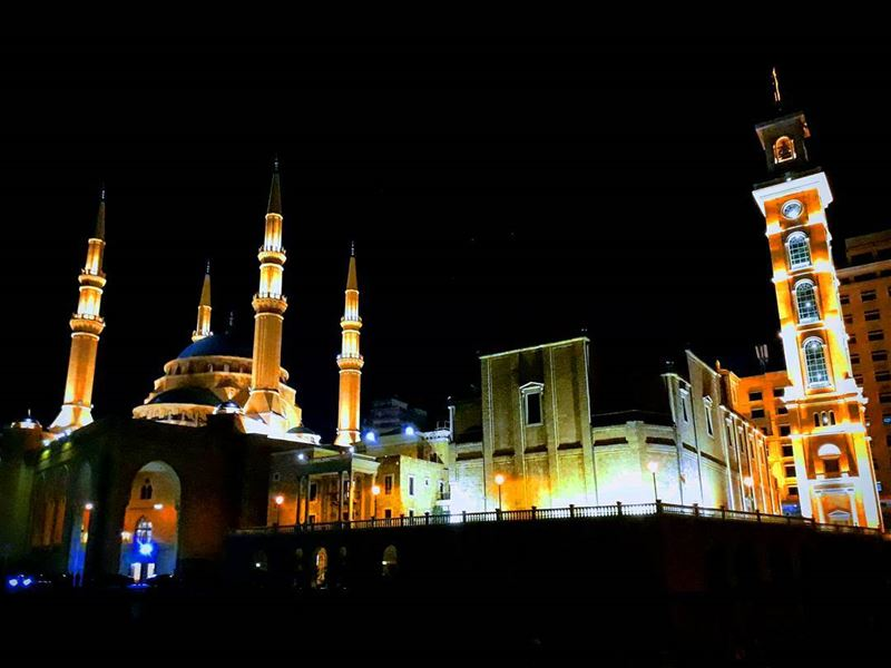 I'm in  love with every  church and  mosque because I know it is there... (Mohammad Al-Amin Mosque)