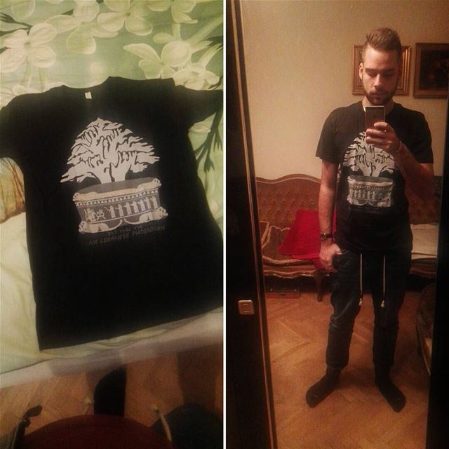I just received that amazing t-shirt from @purplegalley ! It's good... (Warsaw, Poland)