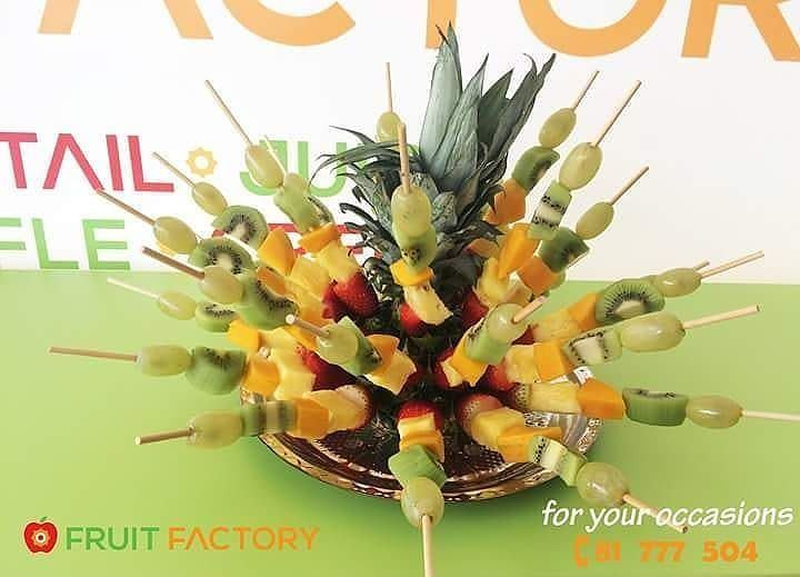 Repost @fruitfactoryleb・・・For your Special Gathering, a very special... (Fruit Factory)