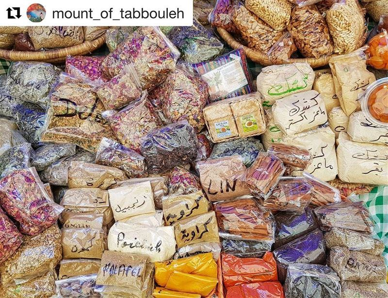 Repost @mount_of_tabbouleh ・・・The fragrance and the taste of Middle East...
