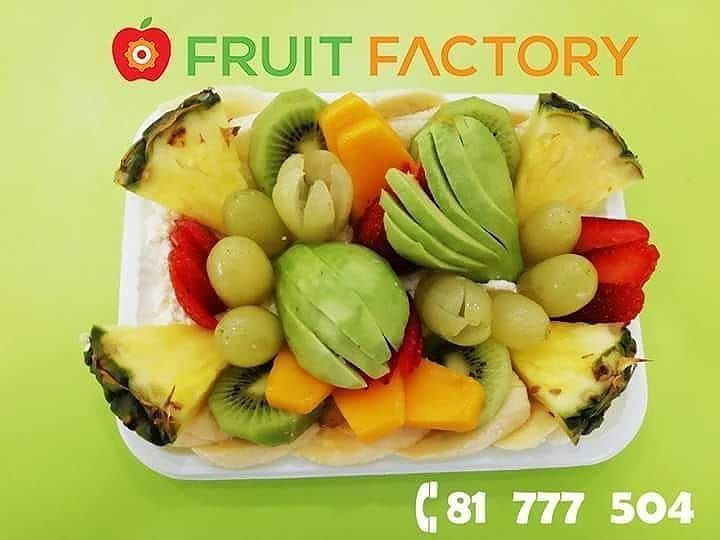 Repost @fruitfactoryleb・・・A Healthy Food for a Wealthy Mood Order Now... (Fruit Factory)