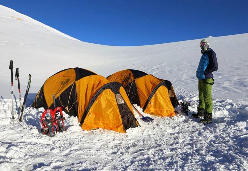 Pitch your tent in the middle of ice and I'll show you what it means when... (Qurnat as Sawda')