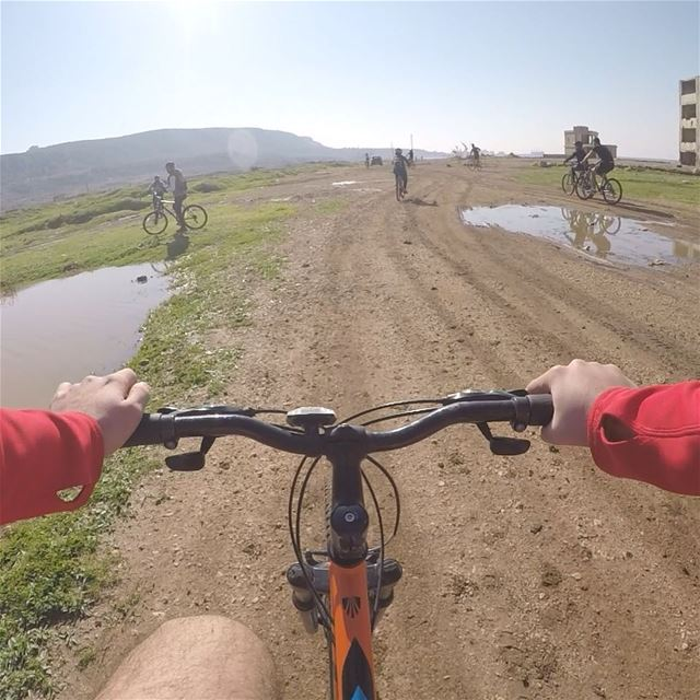 New muddy trails are born around Batroun🚴📷 @bobgemaa  routes  muddy ...