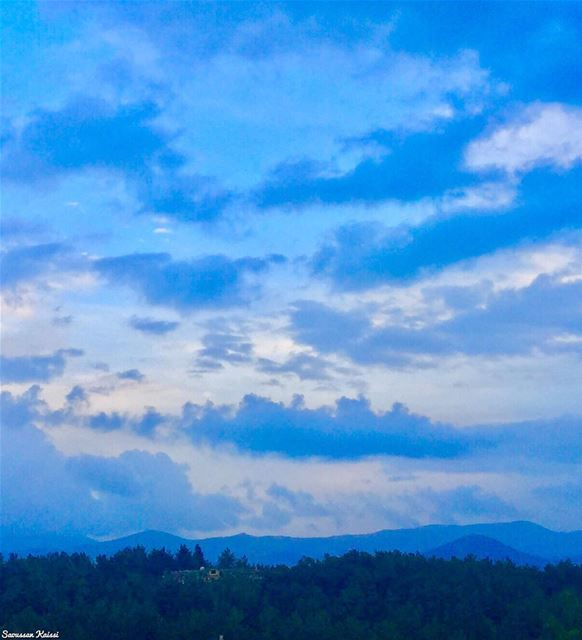 sky clouds  landscapephotography  forest  blue  beautiful ...