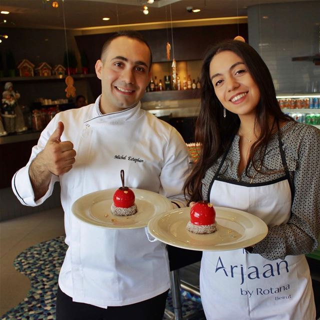 ThrowBack to Christmas vibes ❤️ Making delicious Patisserie and eating... (Raouché Arjaan)