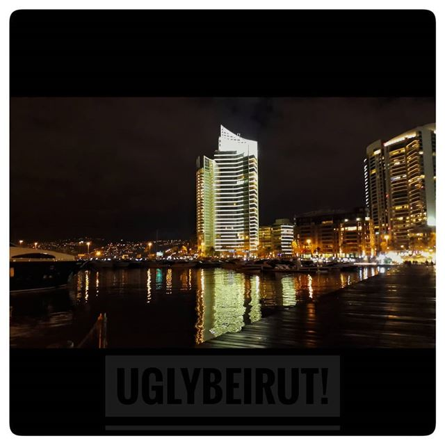 🇱🇧 alone in the night.. uglybeirut  uglycity  urban  ugly  beirut ... (Beirut, Lebanon)