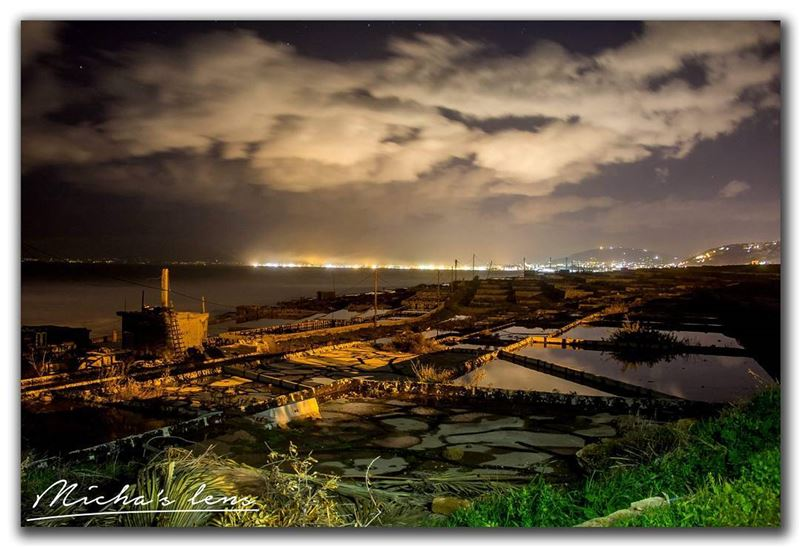 salterns of Anfeh with view to Tripoli  thebestinlebanon  mycountrylebanon...