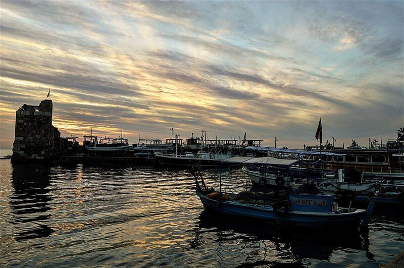 Good evening from byblos,Lebanon livelovelebanon  livelovebyblos  sunset ...